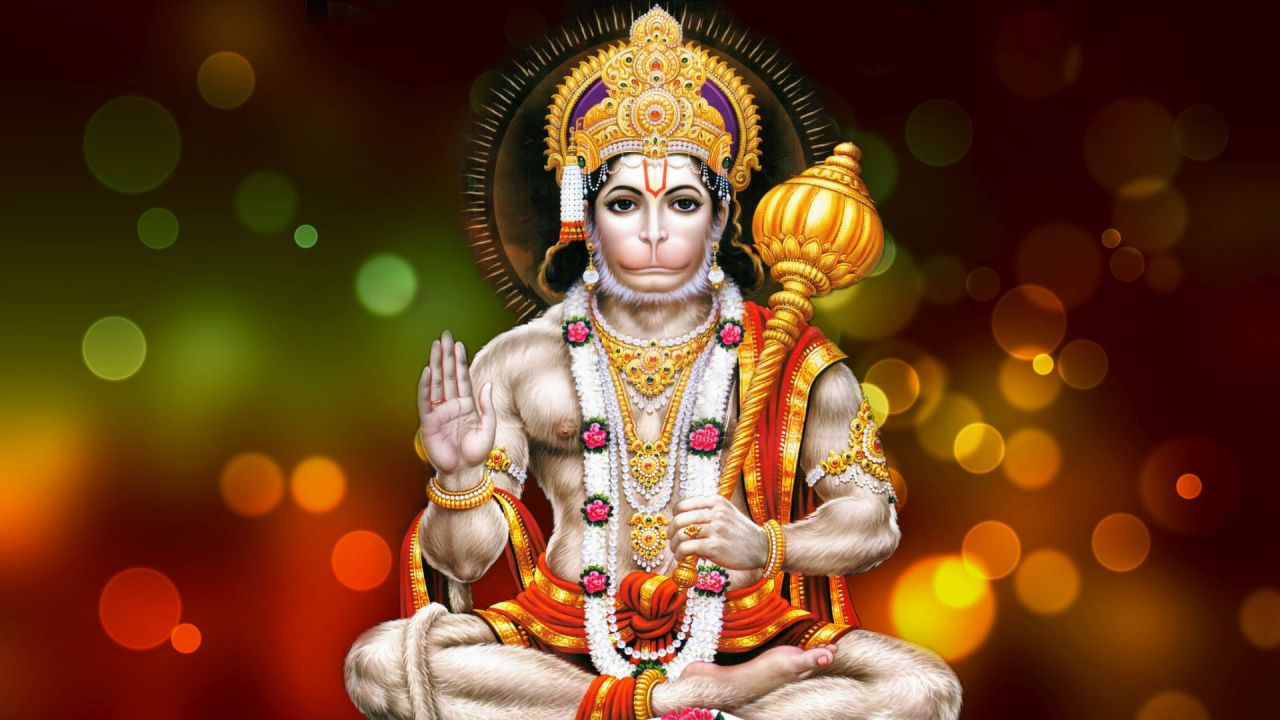 Lord hanuman help to remove obstacles in ones life
